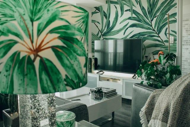Living Room Wallpaper: Room Design Themes